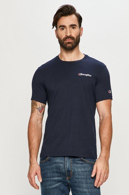 granatowy Champion - T-shirt Męski
