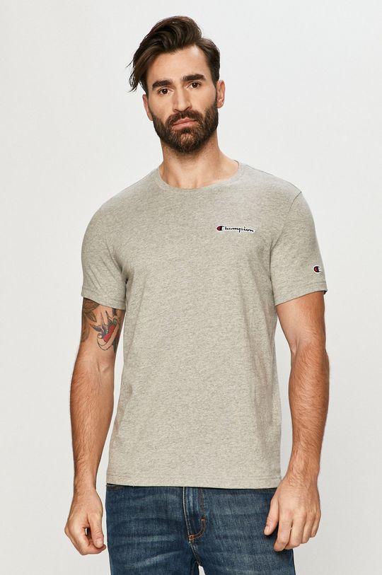 szary Champion - T-shirt Męski