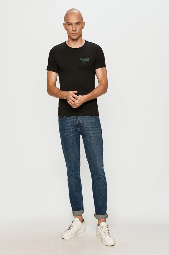 s. Oliver - T-shirt czarny