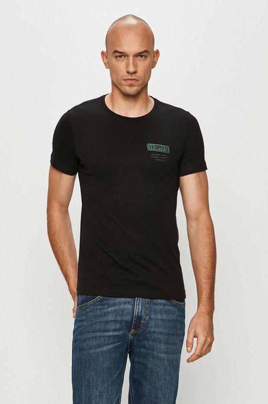 czarny s. Oliver - T-shirt