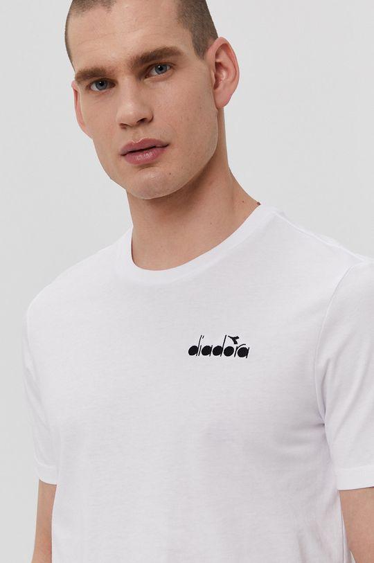 biały Diadora - T-shirt 176634