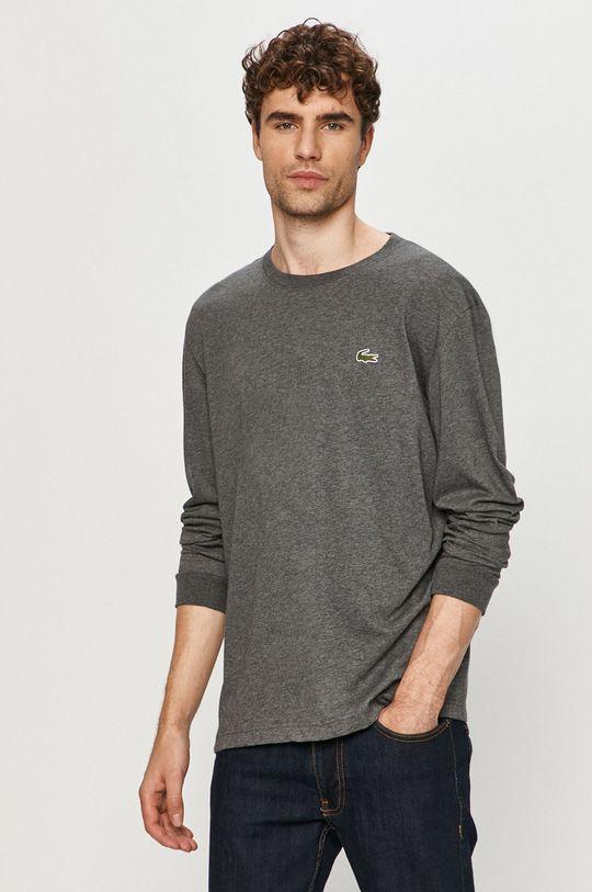 sivá Lacoste - Tričko s dlhým rukávom