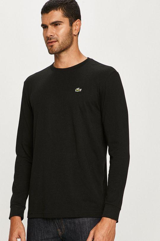 černá Lacoste - Tričko s dlouhým rukávem