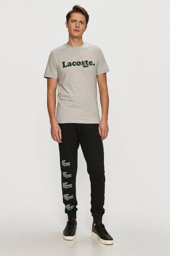 Lacoste - Tričko šedá