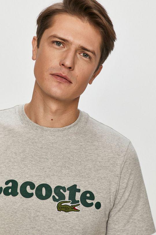 šedá Lacoste - Tričko