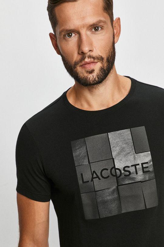 černá Lacoste - Tričko Pánský