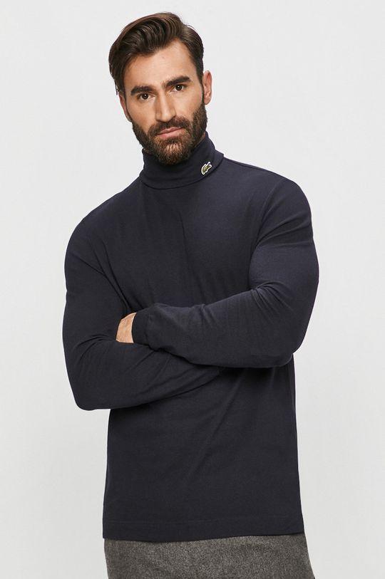 námořnická modř Lacoste - Tričko s dlouhým rukávem Pánský
