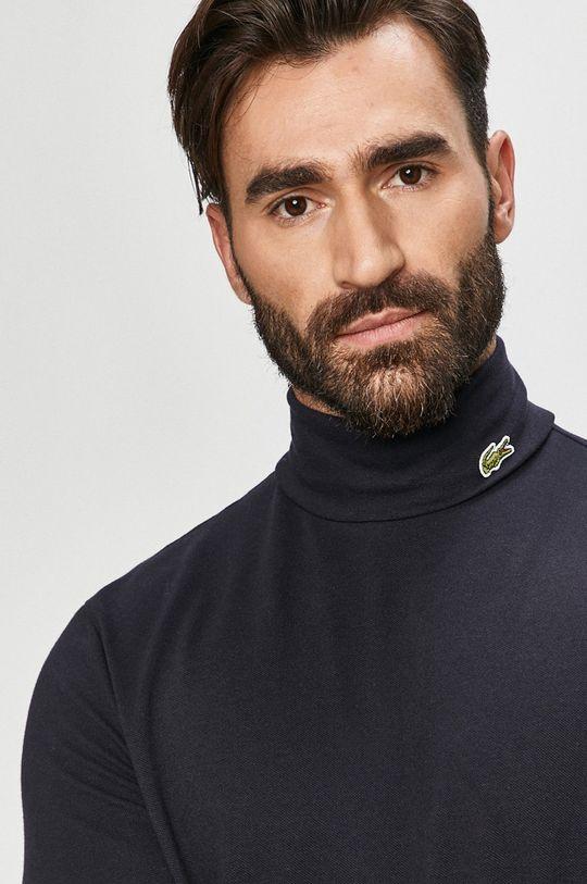 námořnická modř Lacoste - Tričko s dlouhým rukávem