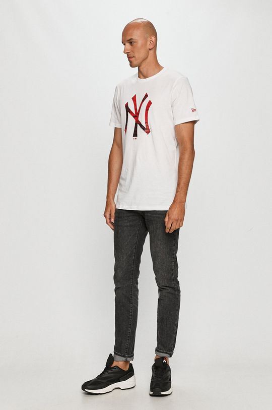 New Era - Tricou alb