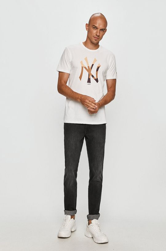 New Era - Tričko biela