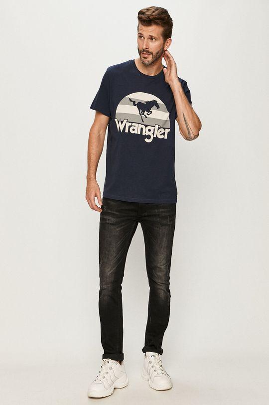 Wrangler - Tričko tmavomodrá