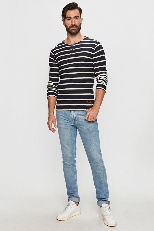 Pepe Jeans - Hosszú ujjú Darek sötétkék