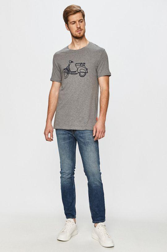 John Frank - T-shirt multicolor