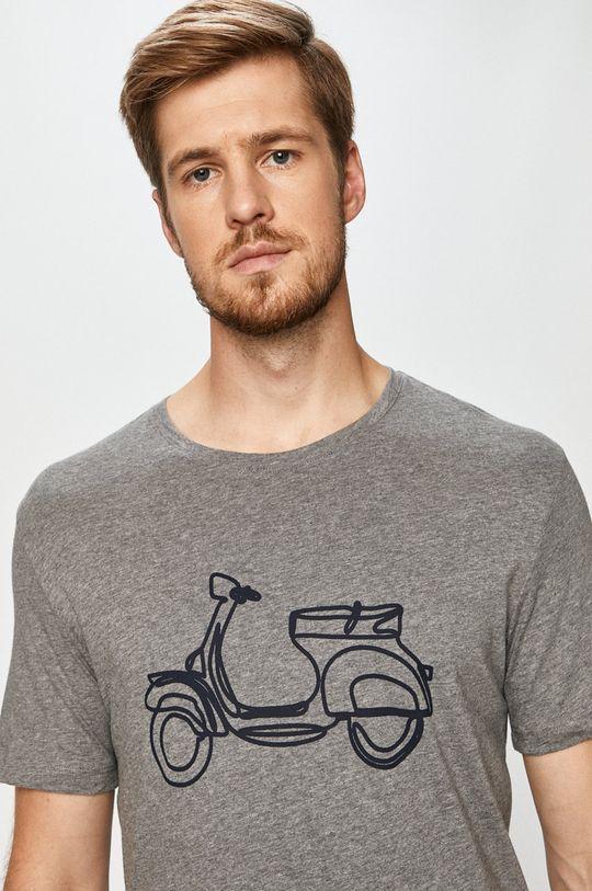 multicolor John Frank - T-shirt