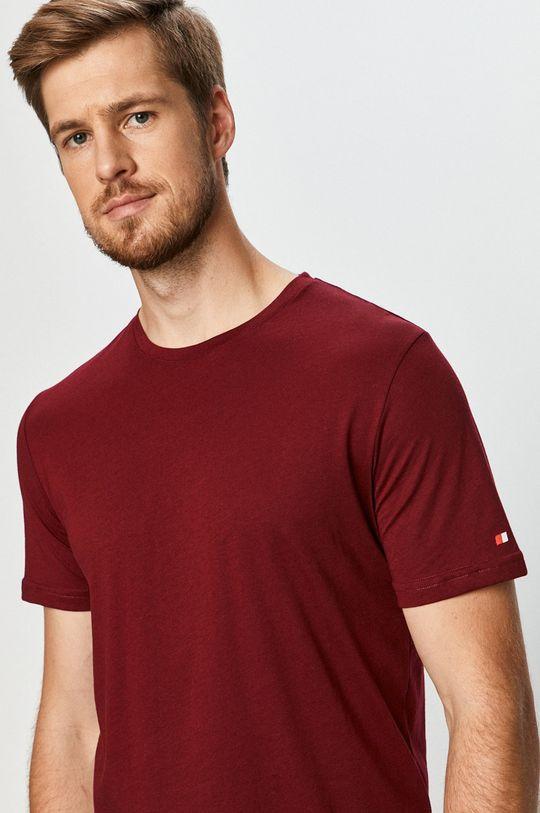 kasztanowy John Frank - T-shirt