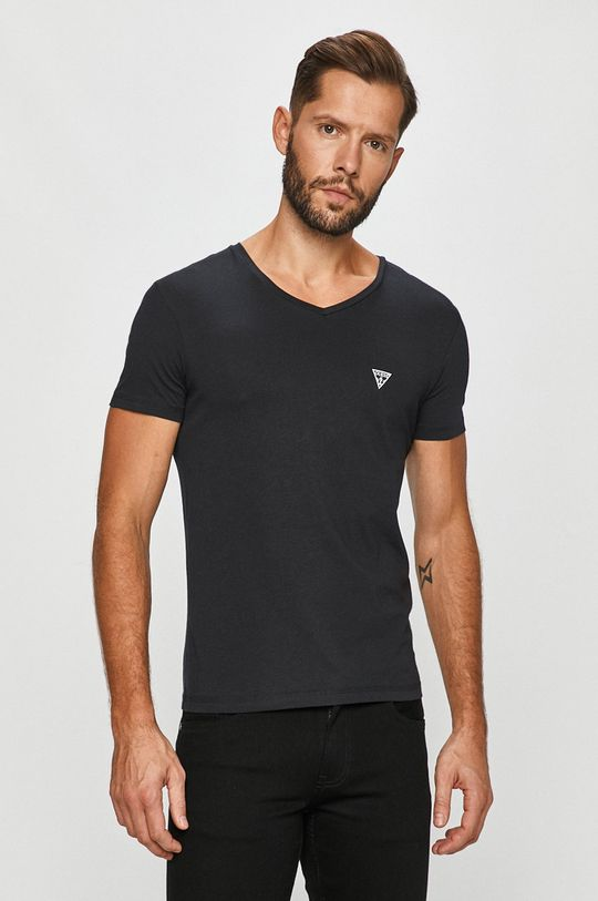černá Guess Jeans - Tričko