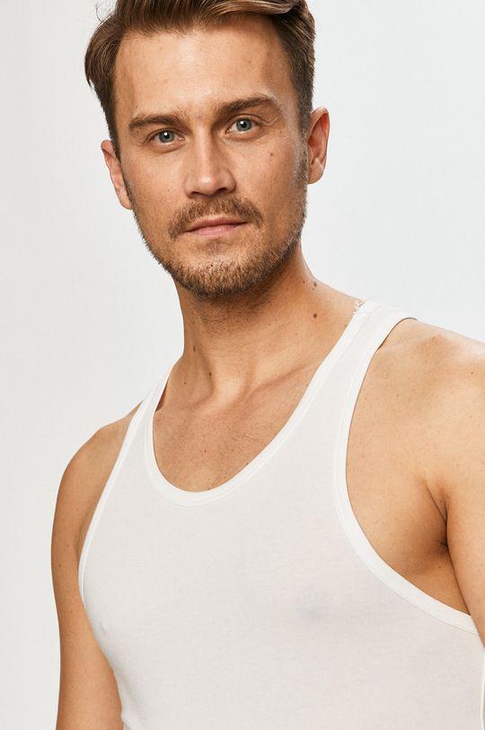 biela Calvin Klein Underwear - Tričko (2-pak)