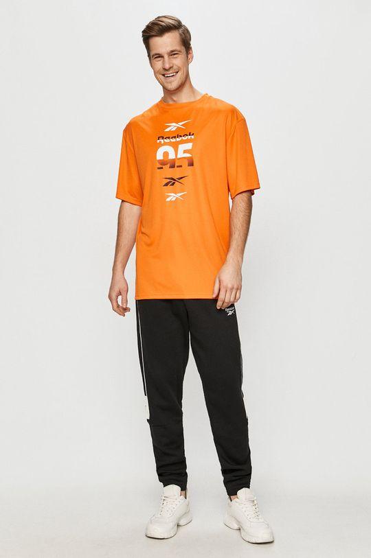 Reebok - Tričko oranžová