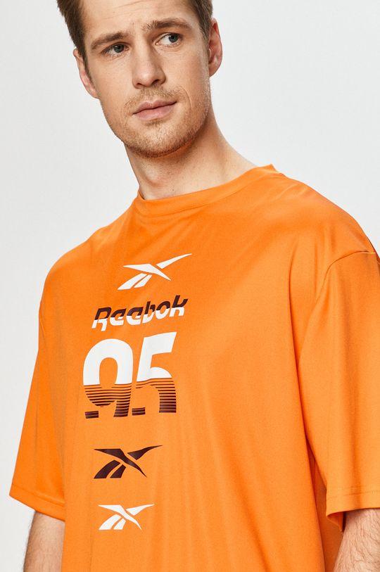 oranžová Reebok - Tričko
