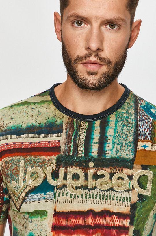 vícebarevná Desigual - Tričko