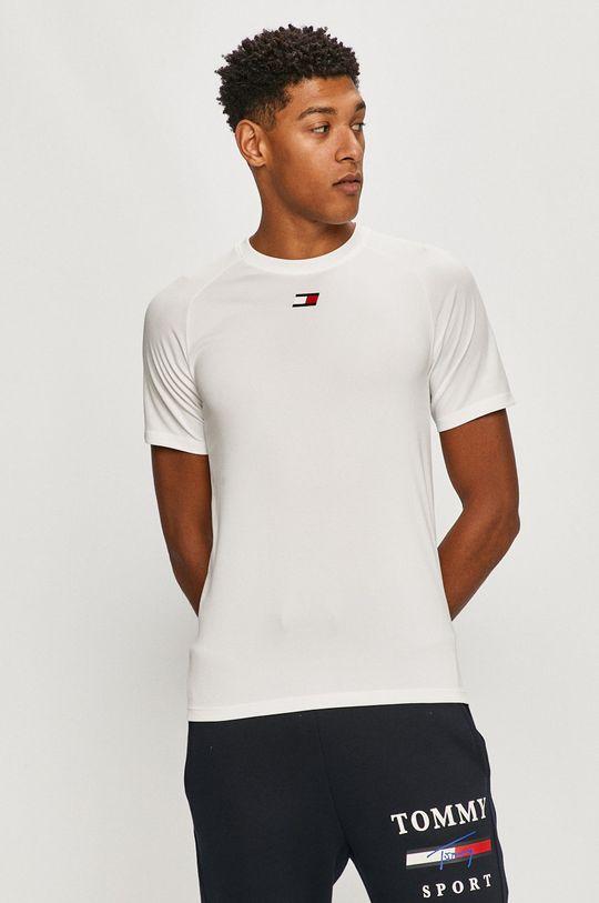 biela Tommy Sport - Tričko Pánsky