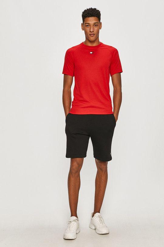 Tommy Sport - T-shirt czerwony