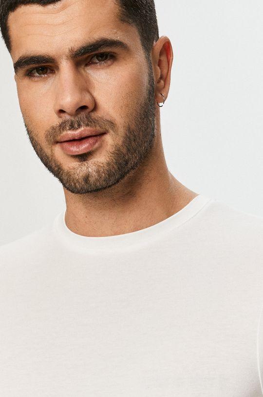 biały Resteröds - T-shirt Bamboo Viscose (2-pack)