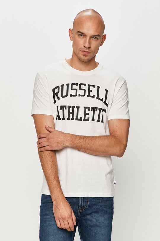 biały Russell Athletic - T-shirt Męski