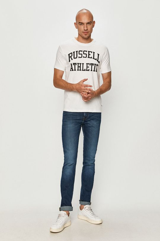 Russell Athletic - T-shirt biały