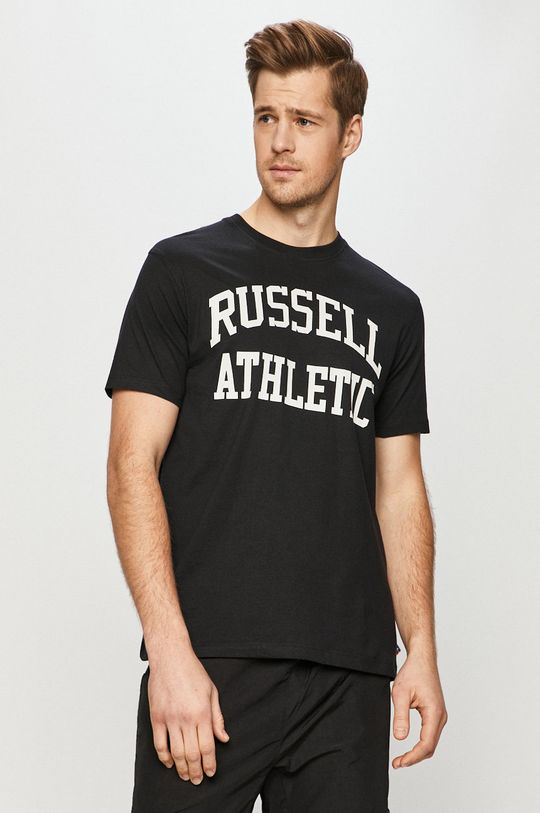 černá Russell Athletic - Tričko Pánský