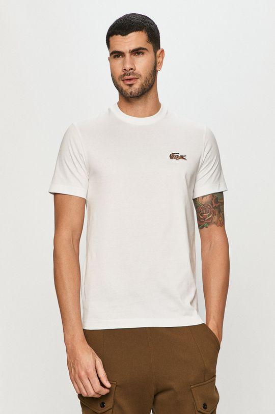 biały Lacoste - T-shirt x National Geograhic Męski