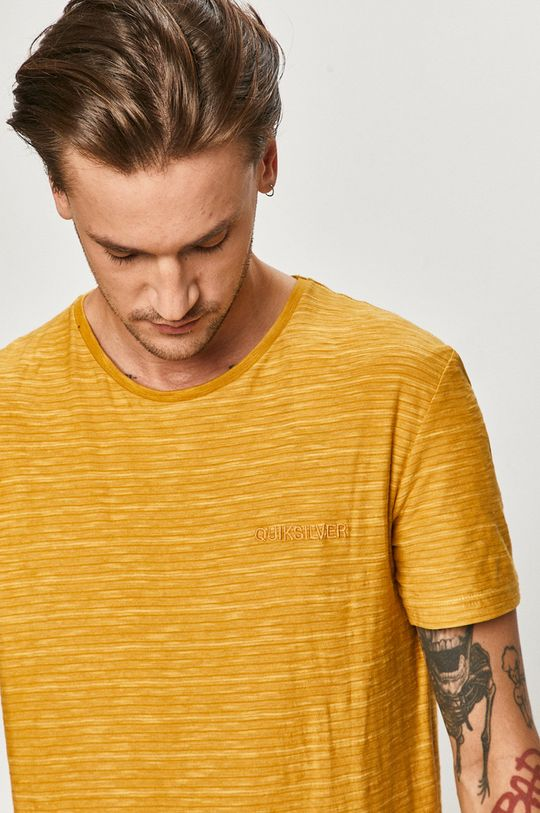 žltá Quiksilver - Tričko