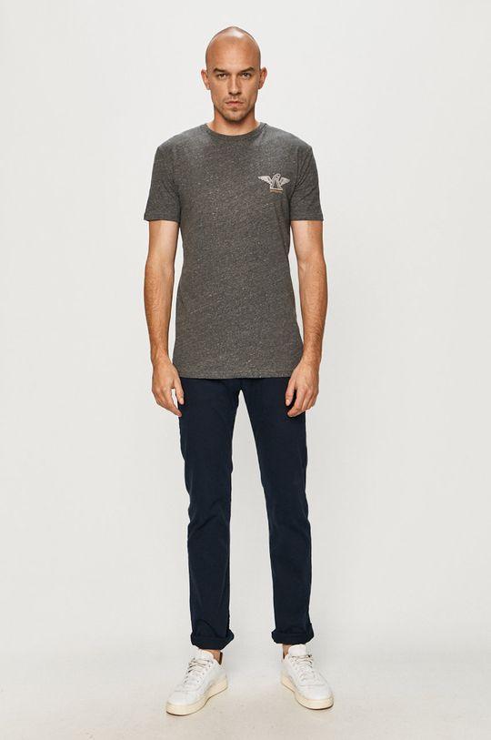 Quiksilver - Tričko sivá