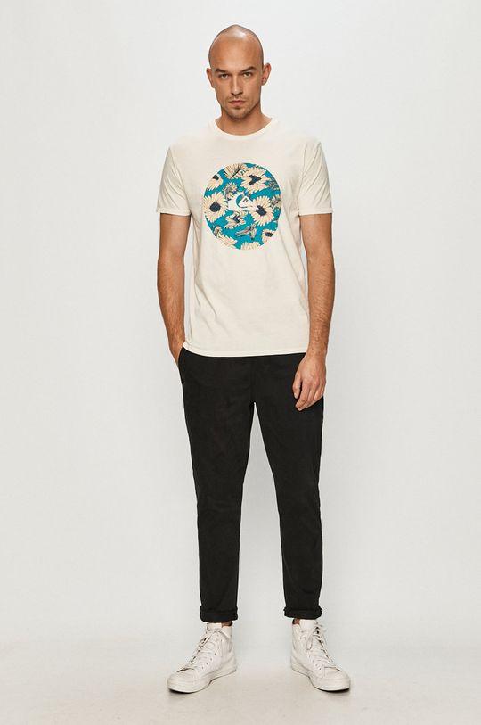 Quiksilver - T-shirt biały