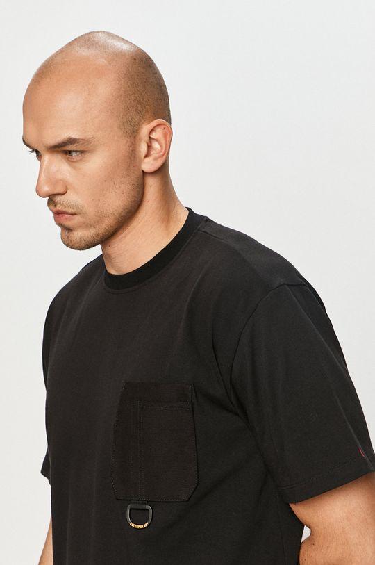 czarny Caterpillar - T-shirt