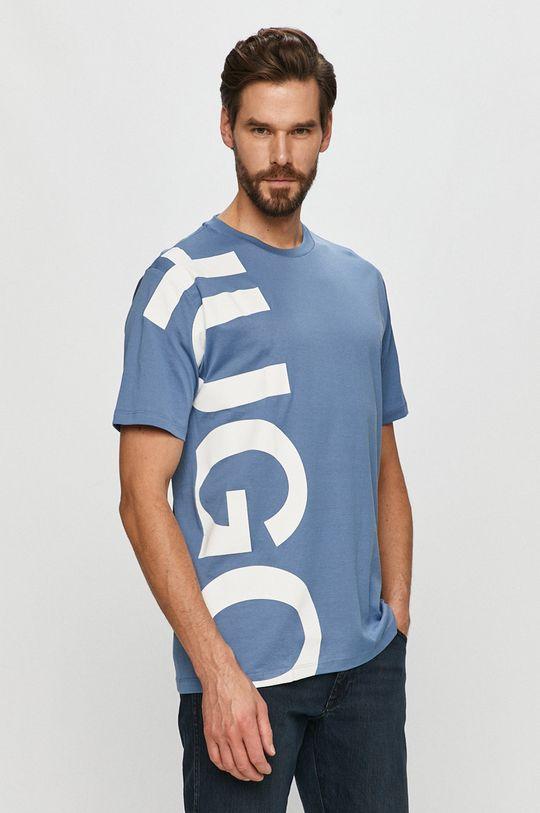 modrá Hugo - Tričko Pánský