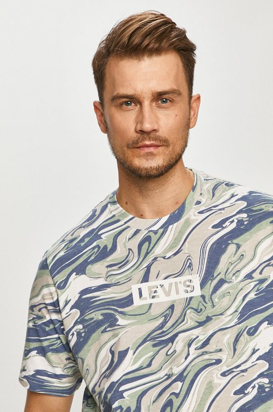 svetlomodrá Levi's - Tričko Pánsky
