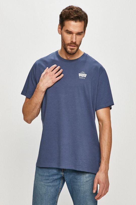 granatowy Levi's - T-shirt