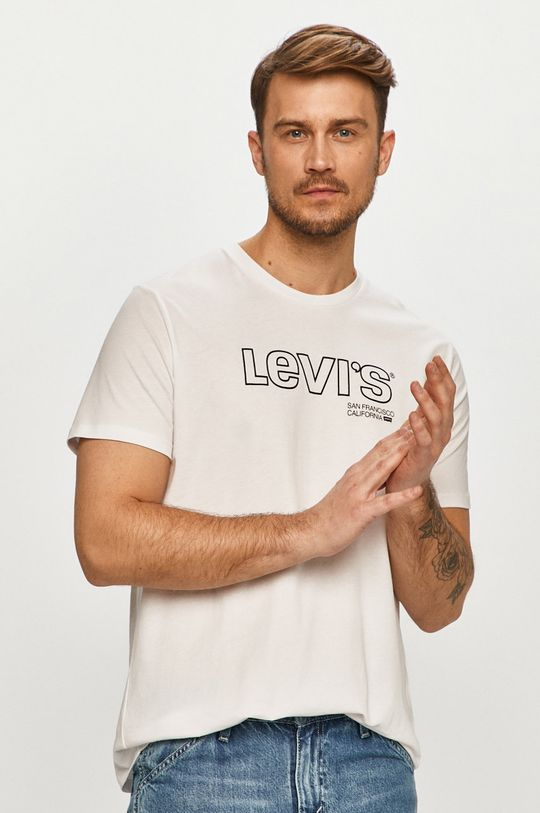 biela Levi's - Tričko Pánsky