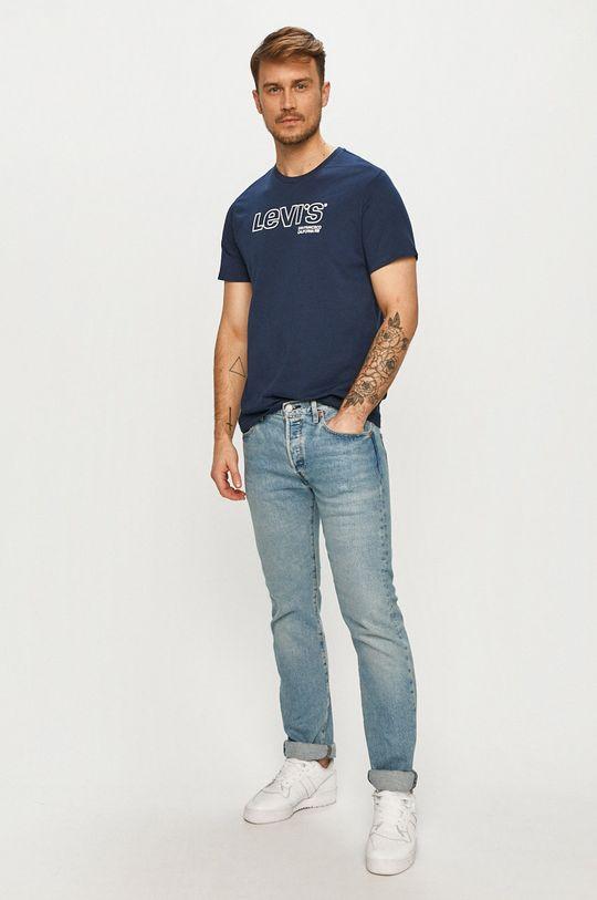 Levi's - Tričko námořnická modř