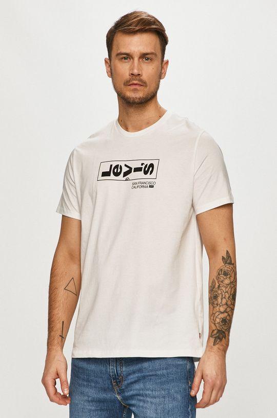 bílá Levi's - Tričko Pánský