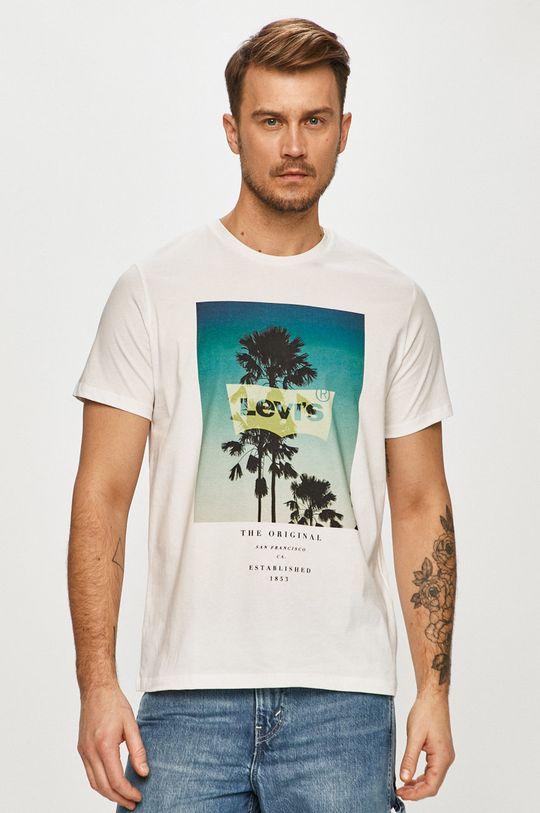 biały Levi's - T-shirt Męski