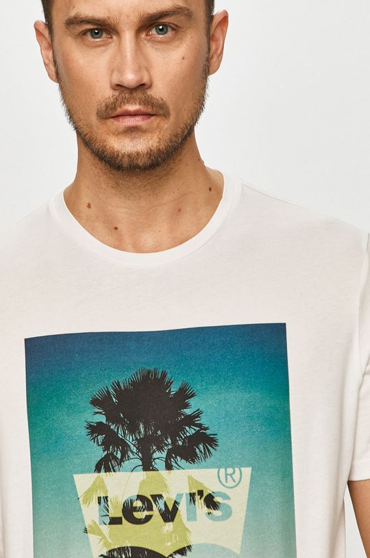 biały Levi's - T-shirt