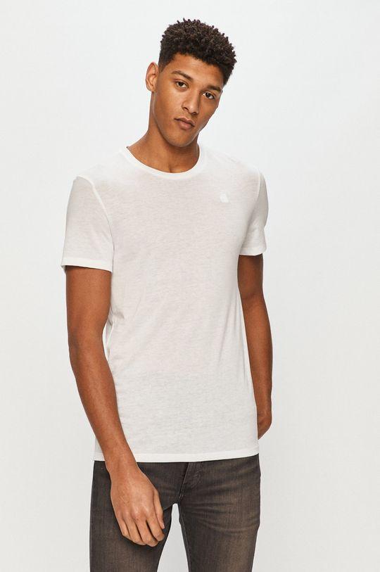 biały G-Star Raw - T-shirt