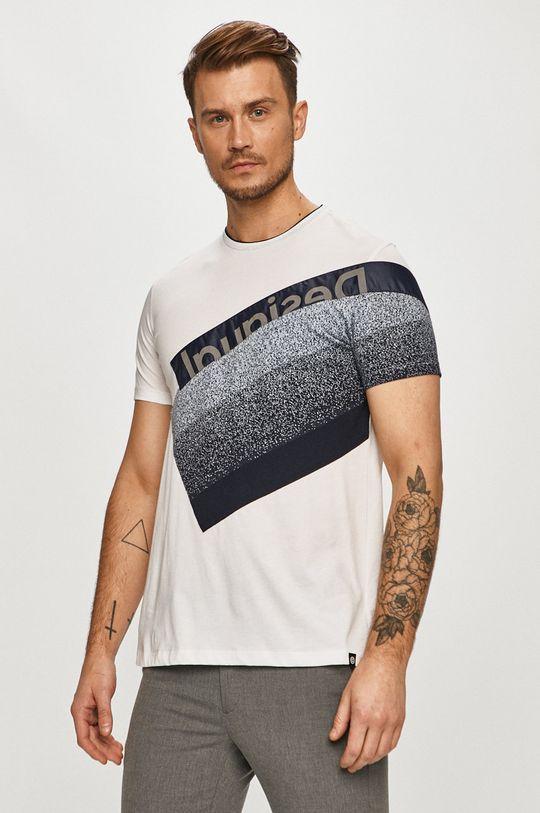 biela Desigual - Tričko Pánsky
