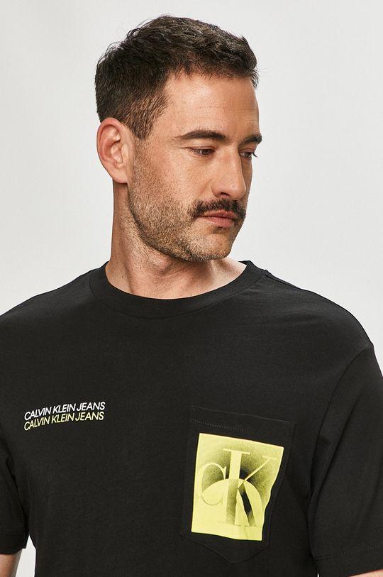 černá Calvin Klein Jeans - Tričko