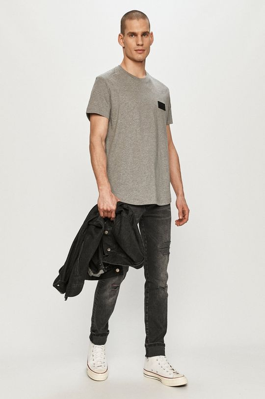 Calvin Klein Jeans - T-shirt szary