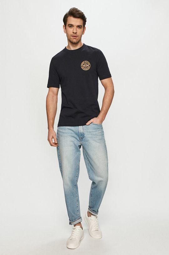 Tommy Hilfiger - T-shirt granatowy