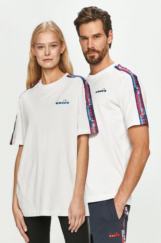 biały Diadora - T-shirt Unisex