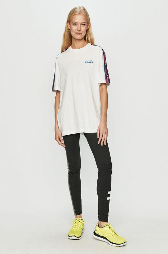 Diadora - T-shirt biały